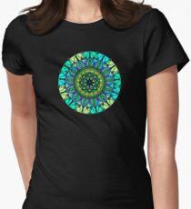 Sacred and Serene Watercolor Mandala  T-Shirt