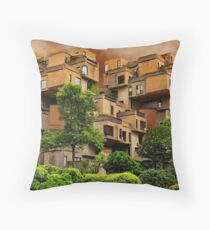 ๑۩۞۩๑HABITAT 67 MONTREAL ,CANADA,ARCHITECTURAL LANDMARK-VERSION TWO ๑۩۞۩๑ PICTURE ,PILLOW,TOTE BAG, Throw Pillow