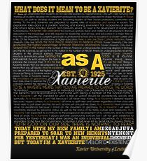 As A Xavierite Collection Poster