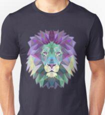 Löwengesicht | Künstlerischer Löwe Unisex T-Shirt