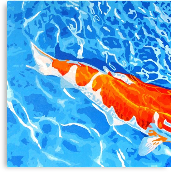 KOI FISH by Kerridixonart