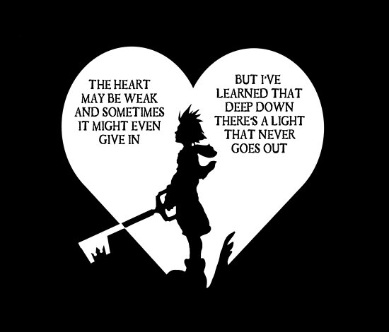 Quot Kingdom Hearts Sora Quote Quot Posters By Kewlzidane Redbubble