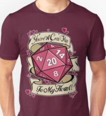 Critical Hit for my Heart T-Shirt