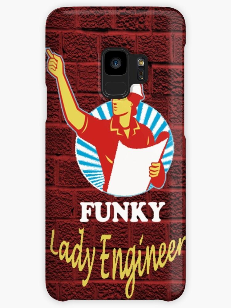 Funky Lady Engineer by Stephen Abel