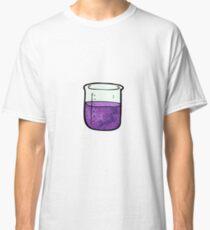 science beaker cartoon Classic T-Shirt