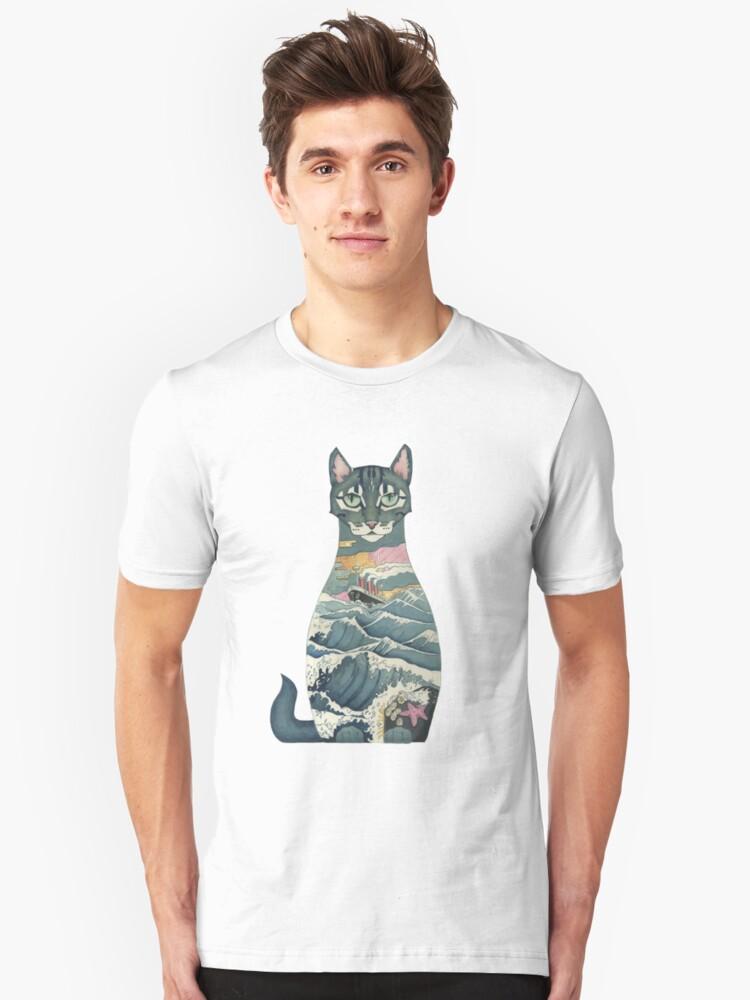 seacat Unisex T-Shirt Front