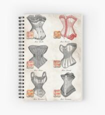 The Red Corset Spiral Notebook