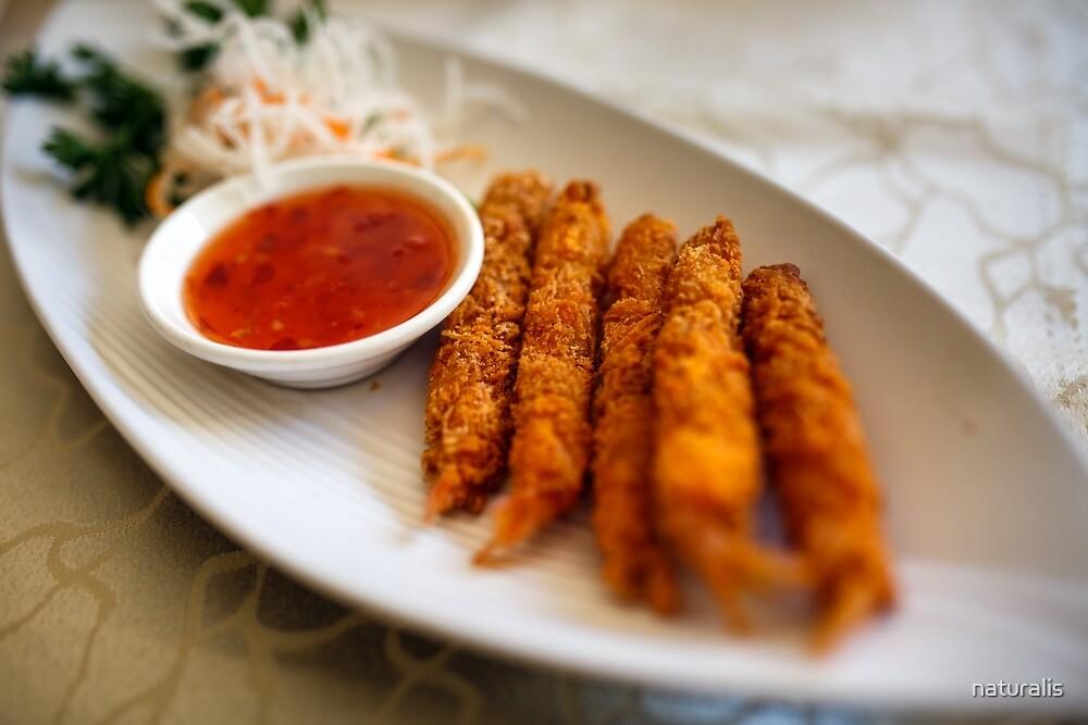 Vietnamese recipe with prawns by naturalis