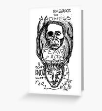 Hannibal - Embrace the Madness Greeting Card