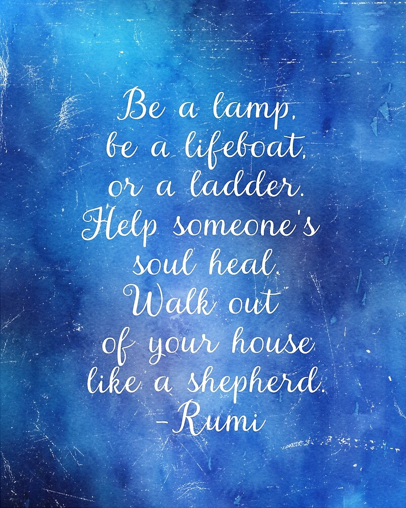 Rumi quote by found in  Atlantis