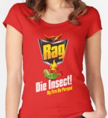 Die Insect! Women's Fitted Scoop T-Shirt