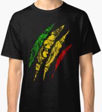Krieger Löwe von Juda König Rasta Reggae Jamaika Wurzeln Classic T-Shirt