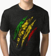 Camiseta de tejido mixto Guerrero León de Judá Rey Rasta Reggae Jamaica Roots