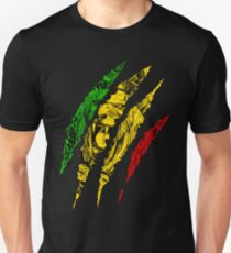 Warrior Lion of Judah King Rasta Reggae Jamaica Roots Unisex T-Shirt