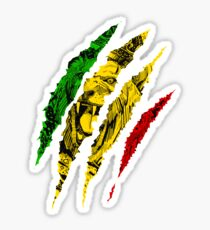 Warrior Lion of Judah King Rasta Reggae Jamaica Roots Sticker