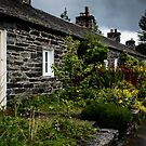 Pitlochry Cottages by Colin Metcalf