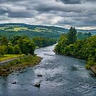 The River Tummel by Colin Metcalf