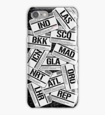 I've been everywhere, man... iPhone Case/Skin