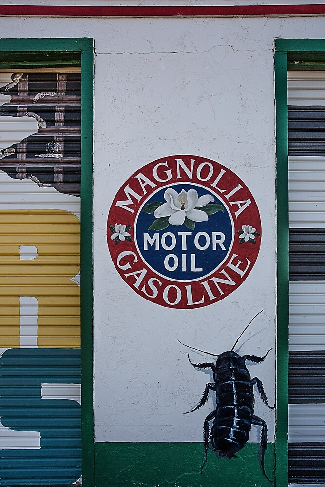Magnolia Gas Station, Tucamari, New Mexico by mattwhitby