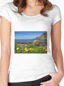 Giants Causeway Women's Fitted Scoop T-Shirt