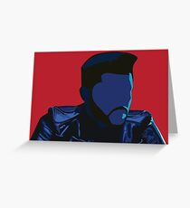 The Weeknd - Starboy Greeting Card