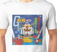 Mobile Suit Gundam Record Sleeve Front Cover Unisex T-Shirt