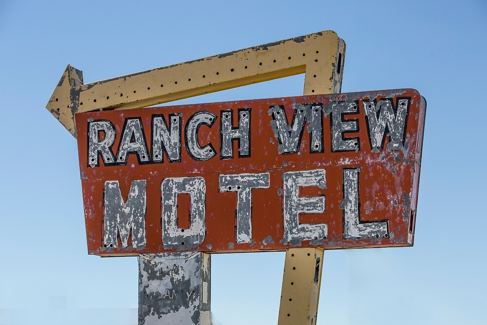 Ranch View Motel, Vaughan, New Mexico by mattwhitby
