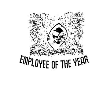 Employee of the year 2016 by Glitchedmotion
