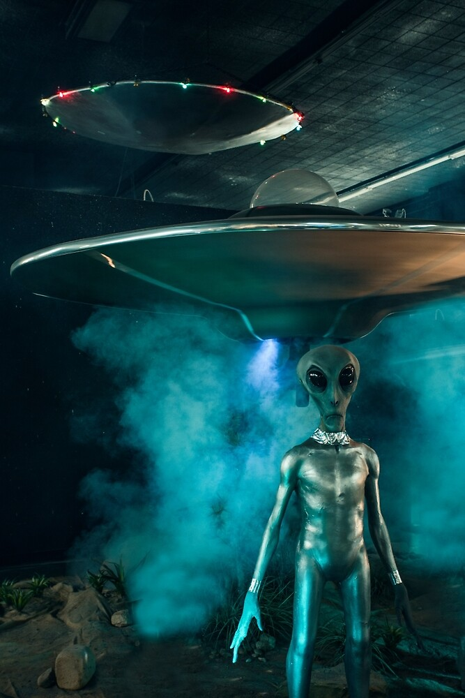 Alien, Roswell, New Mexico by mattwhitby
