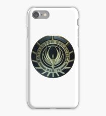 Battlestar Galactica Badge iPhone Case/Skin