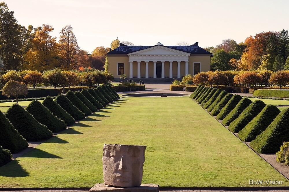 Uppsala Botanical Gardens by BnW-Vision