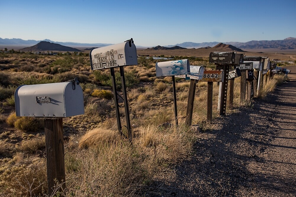 Mailboxes, Hackberry, Arizona by mattwhitby