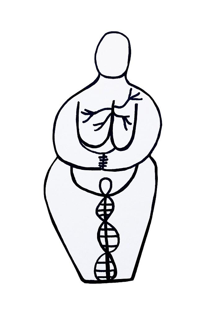 Mother Goddess by Jennifer Lothrigel