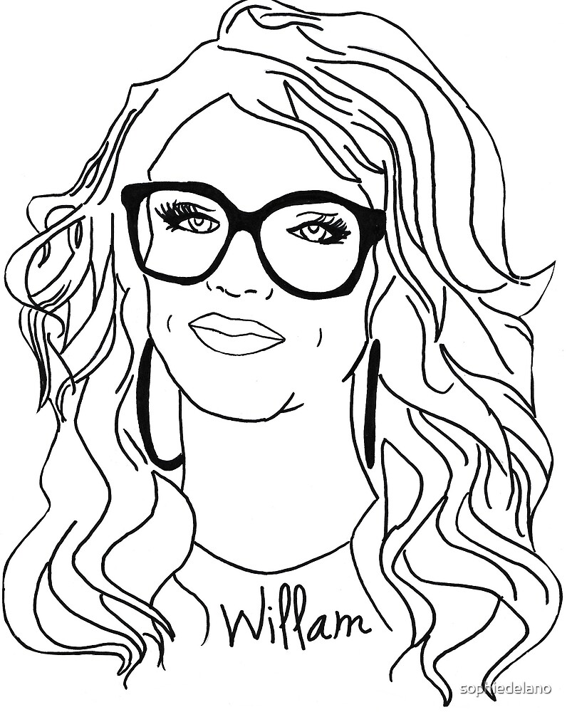 Willam pen drawing by sophiedelano