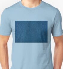 Blue stained cardboard texture abstract Unisex T-Shirt