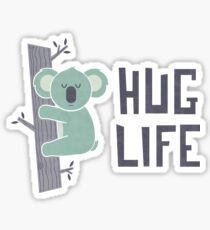 Hug Life Sticker