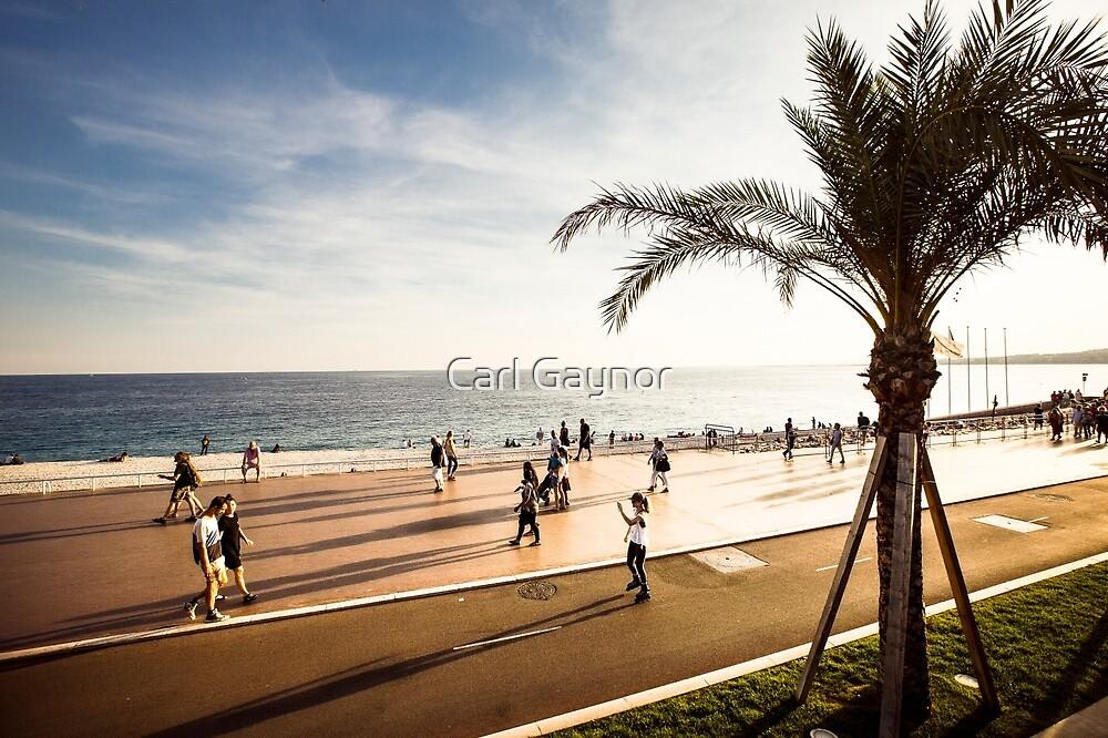 "Cote d"" Azur - A View  by Carl Gaynor"