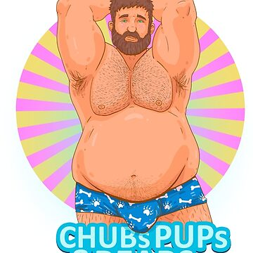 Chub Pride Purple and Yellow by chubspupsnbears