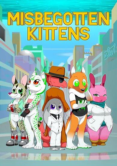 Misbegotten Kittens promotional splash image by drjavi
