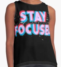Stay Focused Contrast Tank