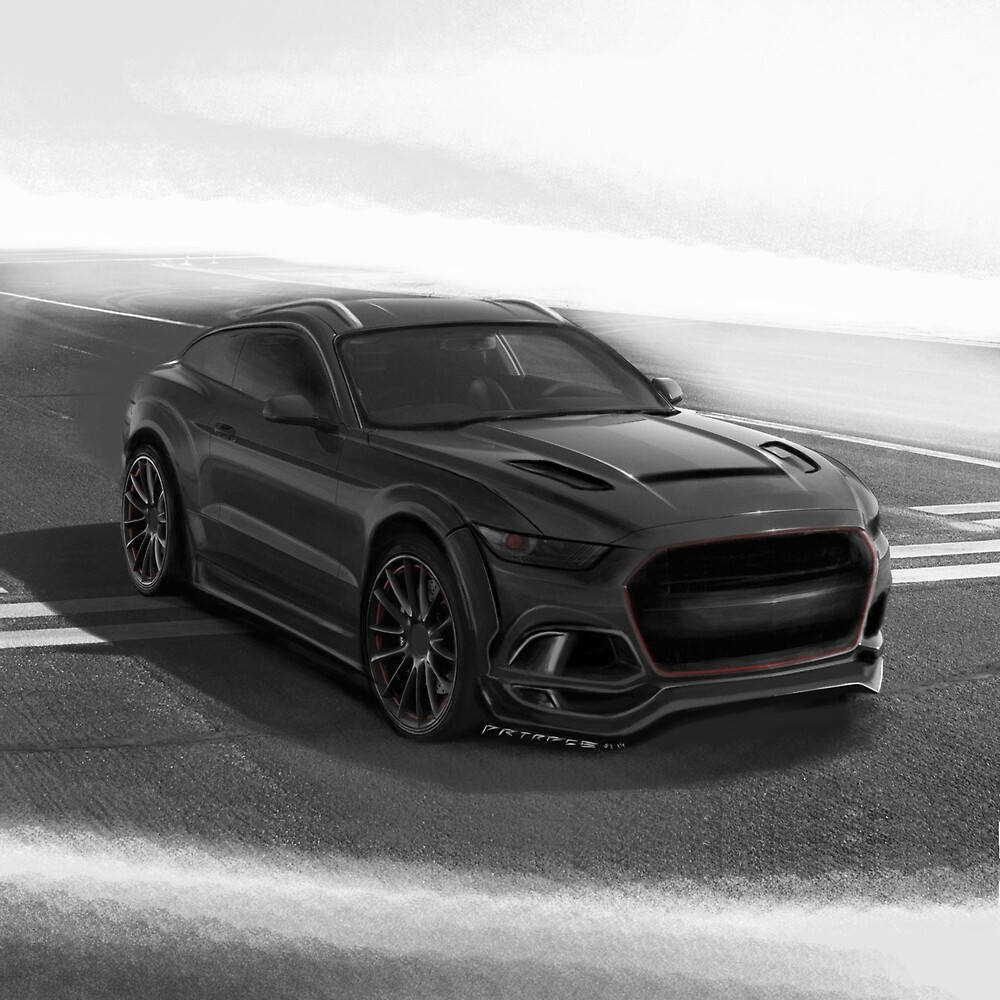 Ford Mustang SUV by Artrace. by artrace