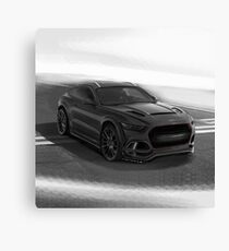 Ford Mustang SUV by Artrace. Canvas Print