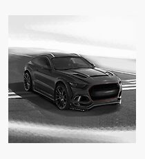 Ford Mustang SUV by Artrace. Photographic Print