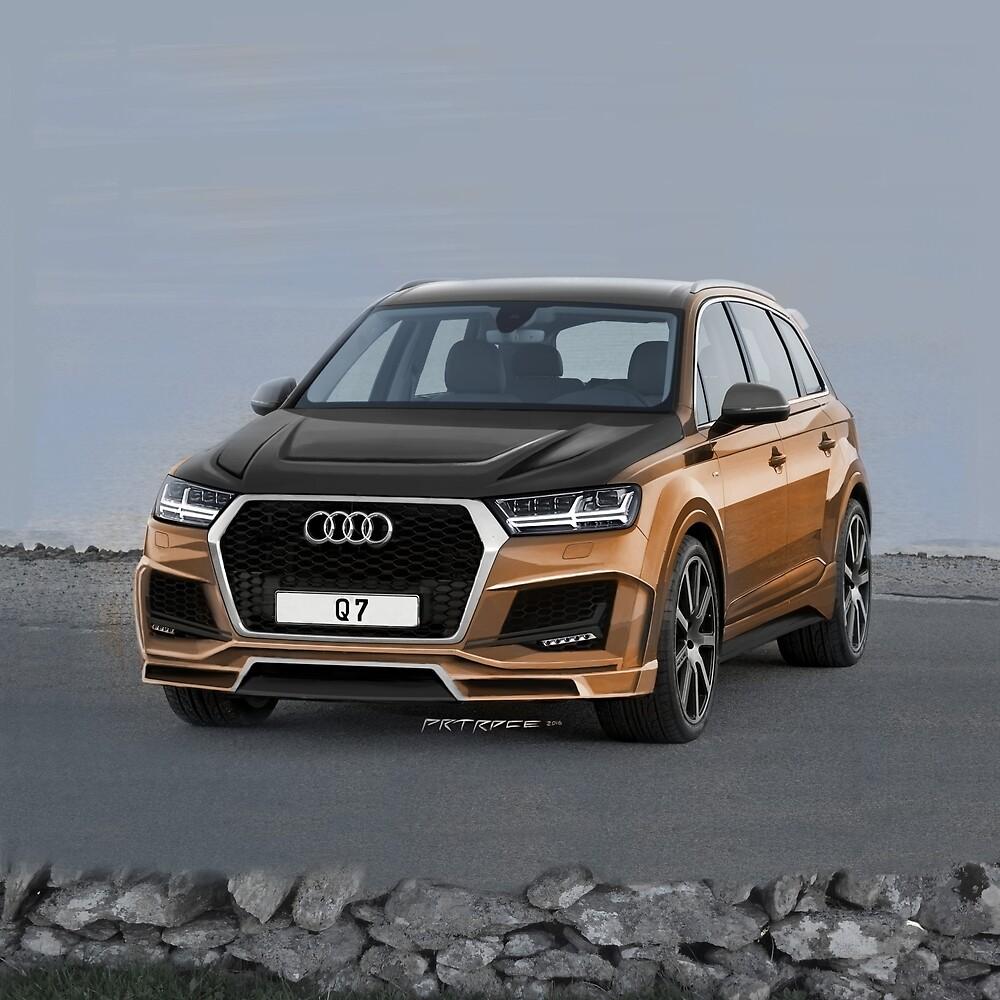 Audi Q7 Artrace body-kit. by artrace
