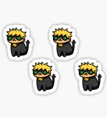 Chat Noir x Neko Atsume Sticker
