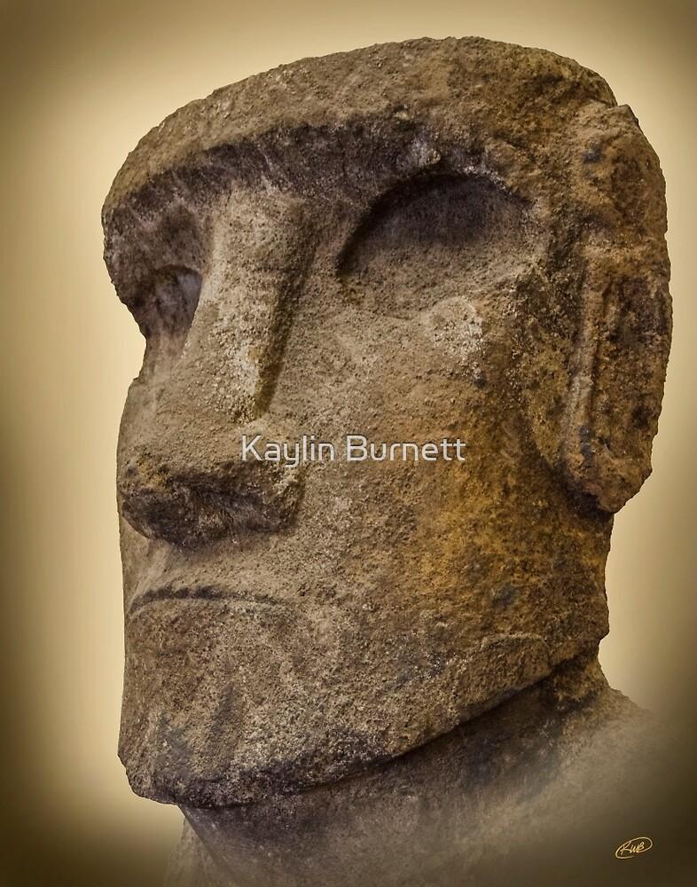 Polinesian Head by Kaylin Burnett