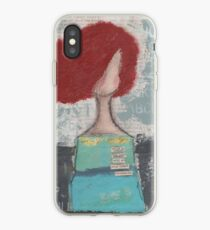 Trusting with her heart iPhone Case