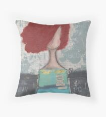 Trusting with her heart Throw Pillow