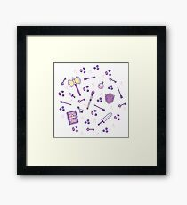 Role Playing Items 02 Framed Print