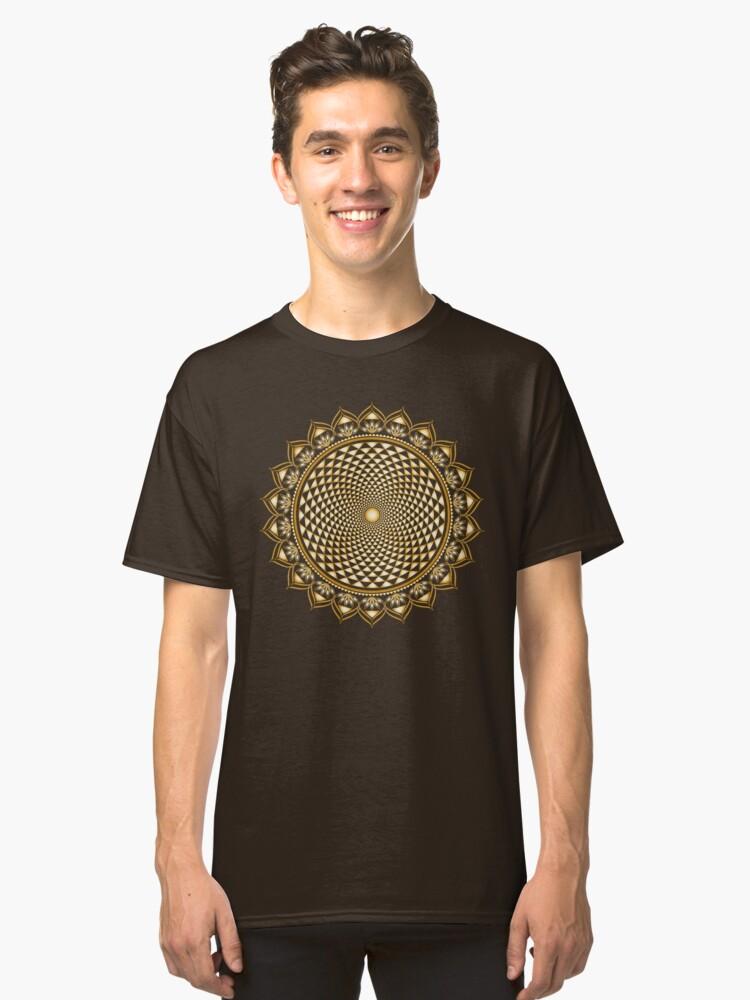 Crown Chakra, Sahasrara , Yoga, Buddhism, Lotus Flower Classic T-Shirt Front